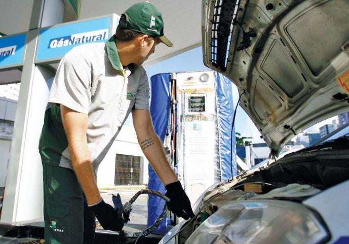 Oferta de postos que vendem o gás veicular em Belo Horizonte ainda é pequena /