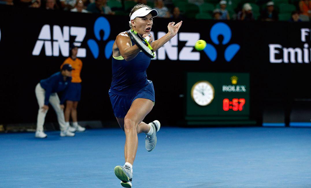 Wozniacki vai às oitavas no Australian Open