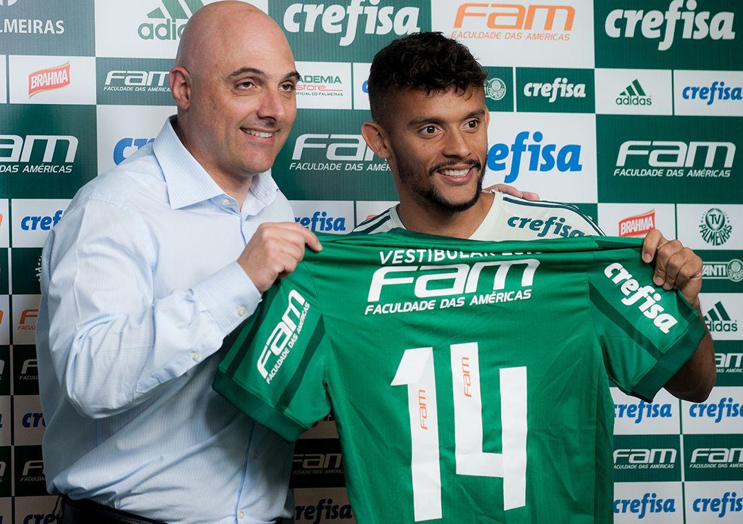 Apresentado no Palmeiras, Scarpa justifica escolha: 'Desejo antigo'