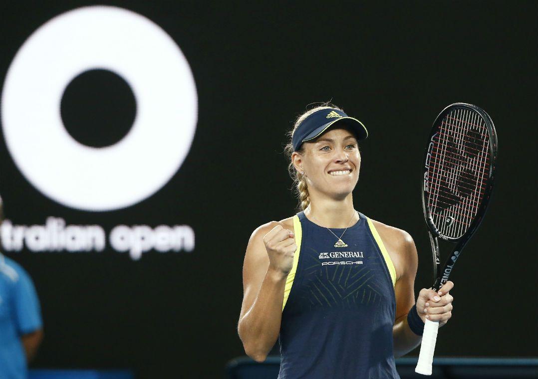 Kerber arrasa Sharapova e vai às oitavas no Australian Open