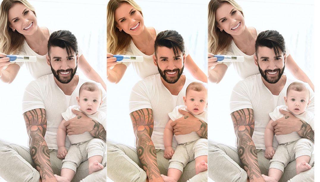 Gusttavo Lima anuncia que vai ser papai pela 2ª vez
