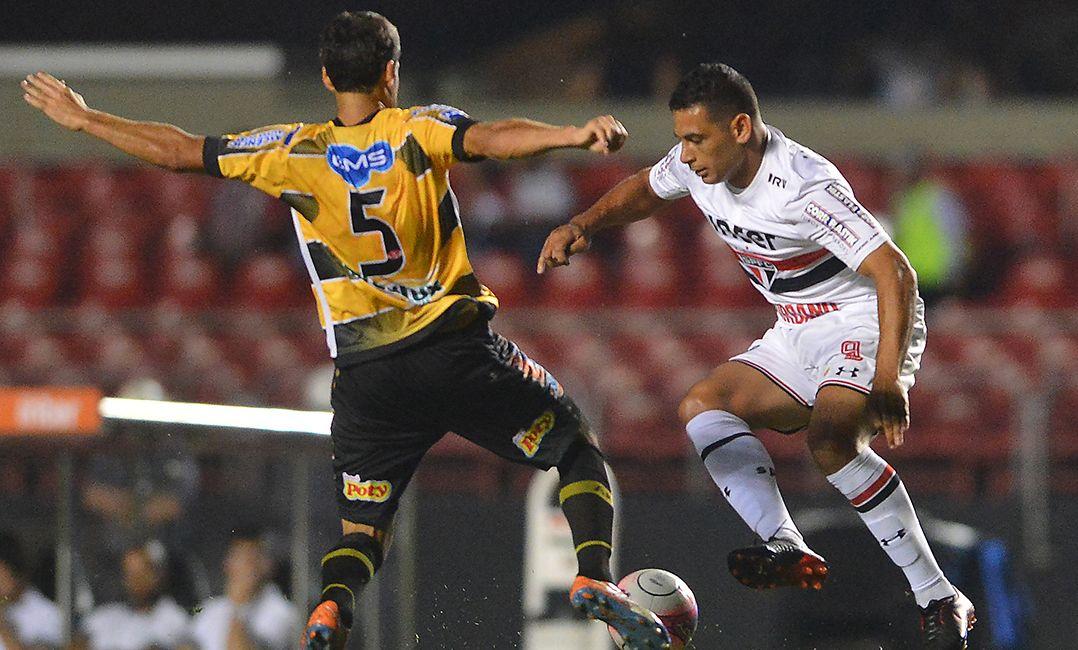 Com time titular, São Paulo fica no empate com Novorizontino