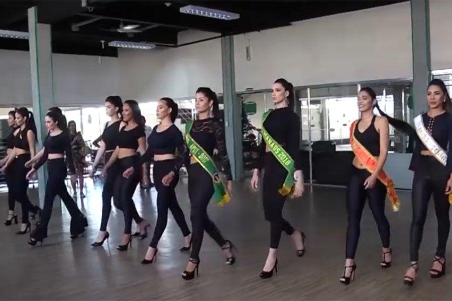 Candidatas já participam dos eventos oficiais do Miss Amazonas / Arquivo Band Cidade