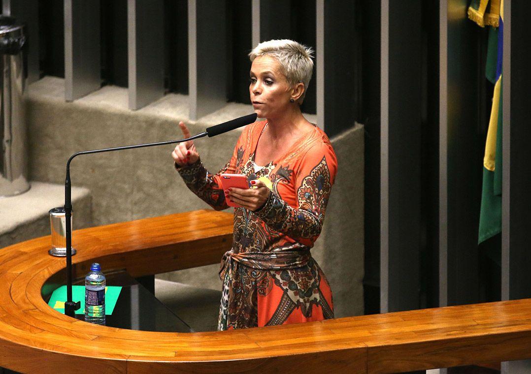 Presa, Cristiane Brasil é candidata à vice-prefeita do Rio