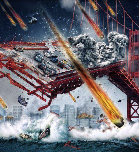 Poster do filme Tempestade de Meteoros / Divulgação