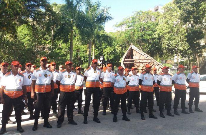 Cento e cinquenta agentes vão atuar na região / (Foto: Francini Augusto)