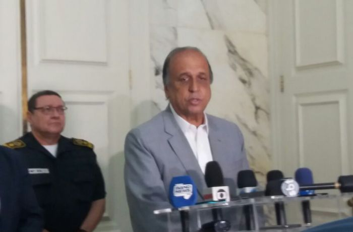 Pezão voltou a afirmar que não vai acabar com as Unidades de Polícia Pacificadoras  / Luiza Muttoni