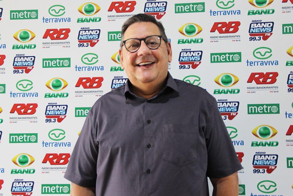 Band RS contrata o narrador Marco Antônio Pereira