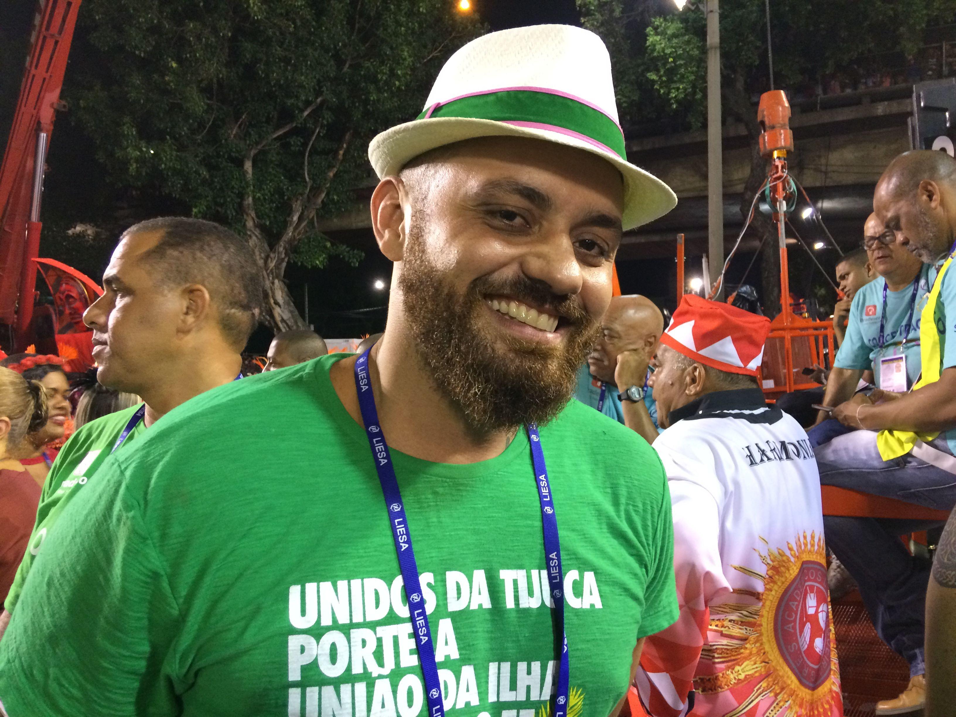carnavalesco mangueira  Leandro Vieira