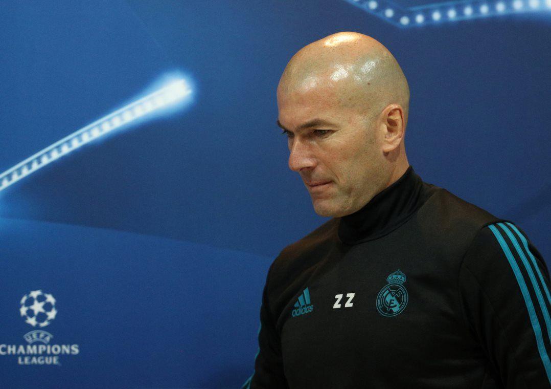 Time de Zidane faz campanha irregular no Campeonato Espanhol e já foi eliminado da Copa do Rei / Sergio Perez/Reuters