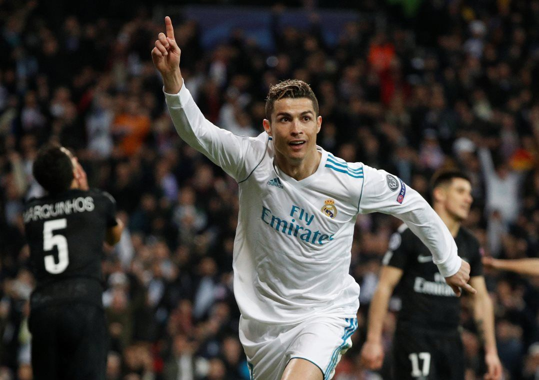 Cristiano Ronaldo marcou duas vezes nesta quarta-feira