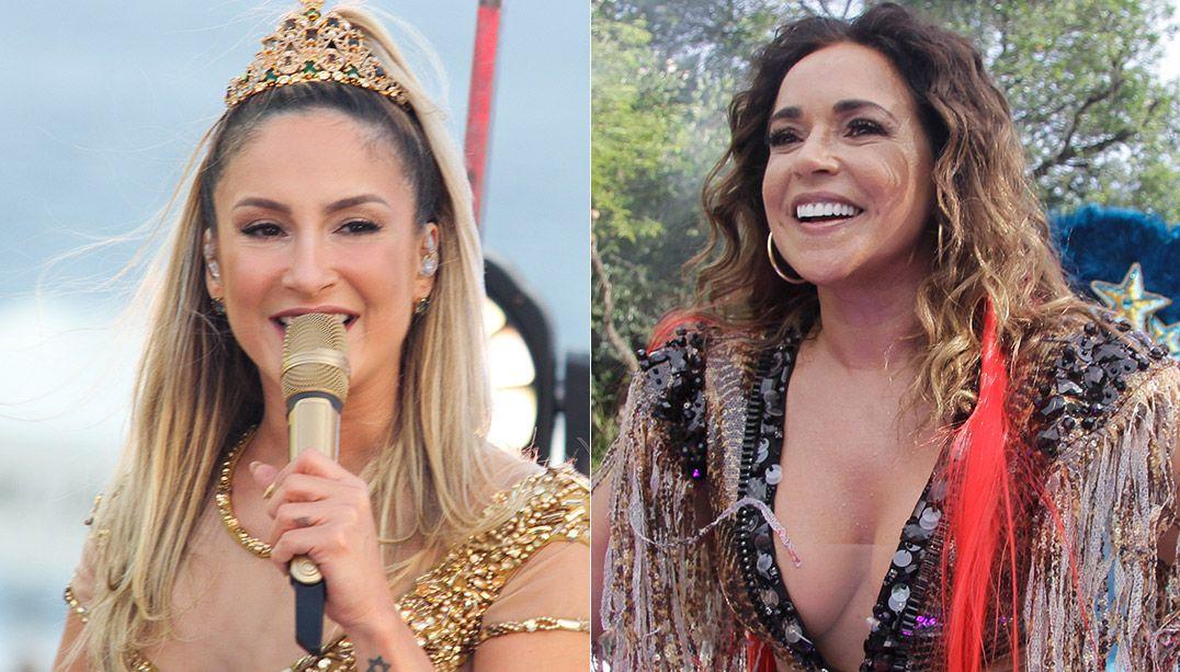 Encerramento do Carnaval de SP traz Claudia Leitte e Daniela Mercury