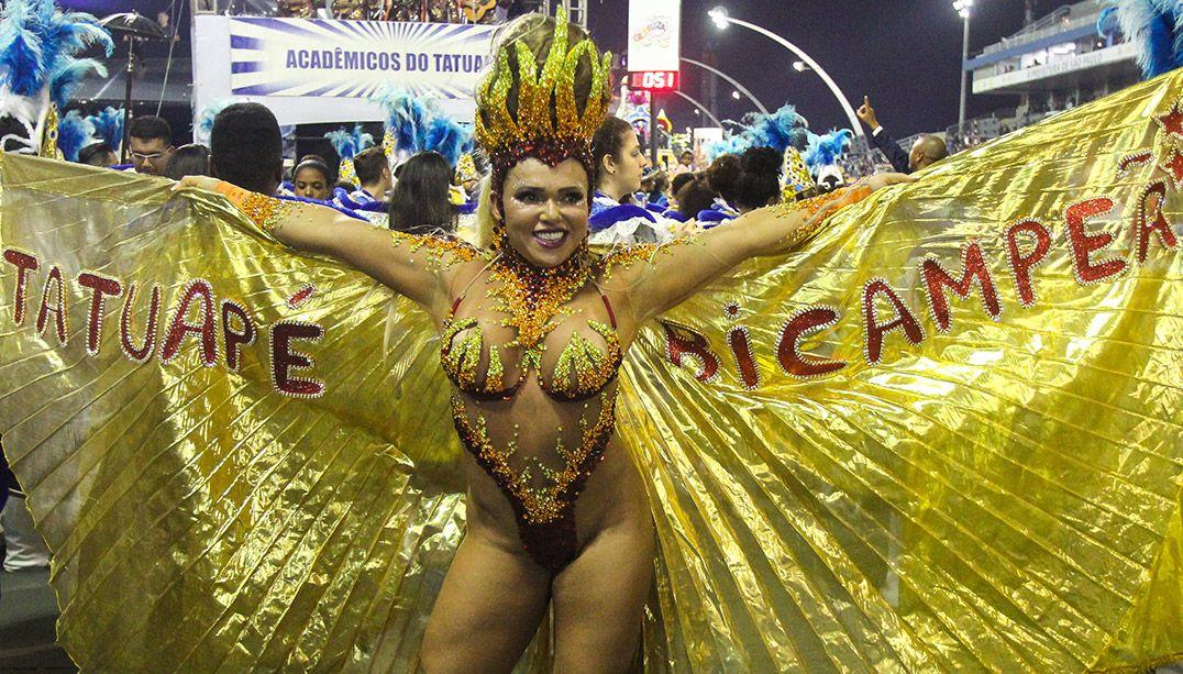 Em São Paulo, Desfile das Campeãs termina em confraternização