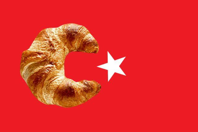 A origem do croissant