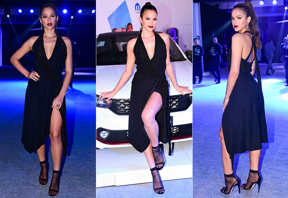 Bruna Marquezine usa look arrasador em evento
