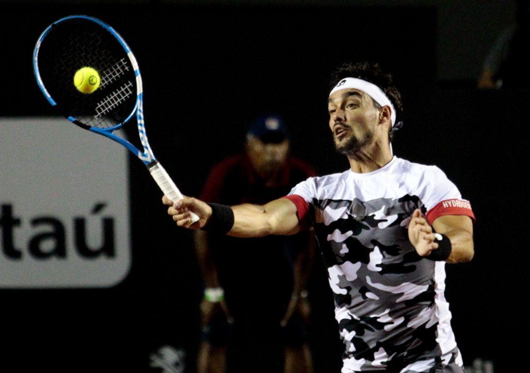 Fognini encara Aljaz Bedene na sequência do torneio / Rudy Trindade/Framephoto/Estadão Conteúdo