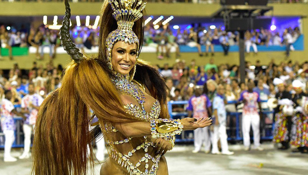 Gracyanne Barbosa é confirmada como rainha da União da Ilha em 2019
