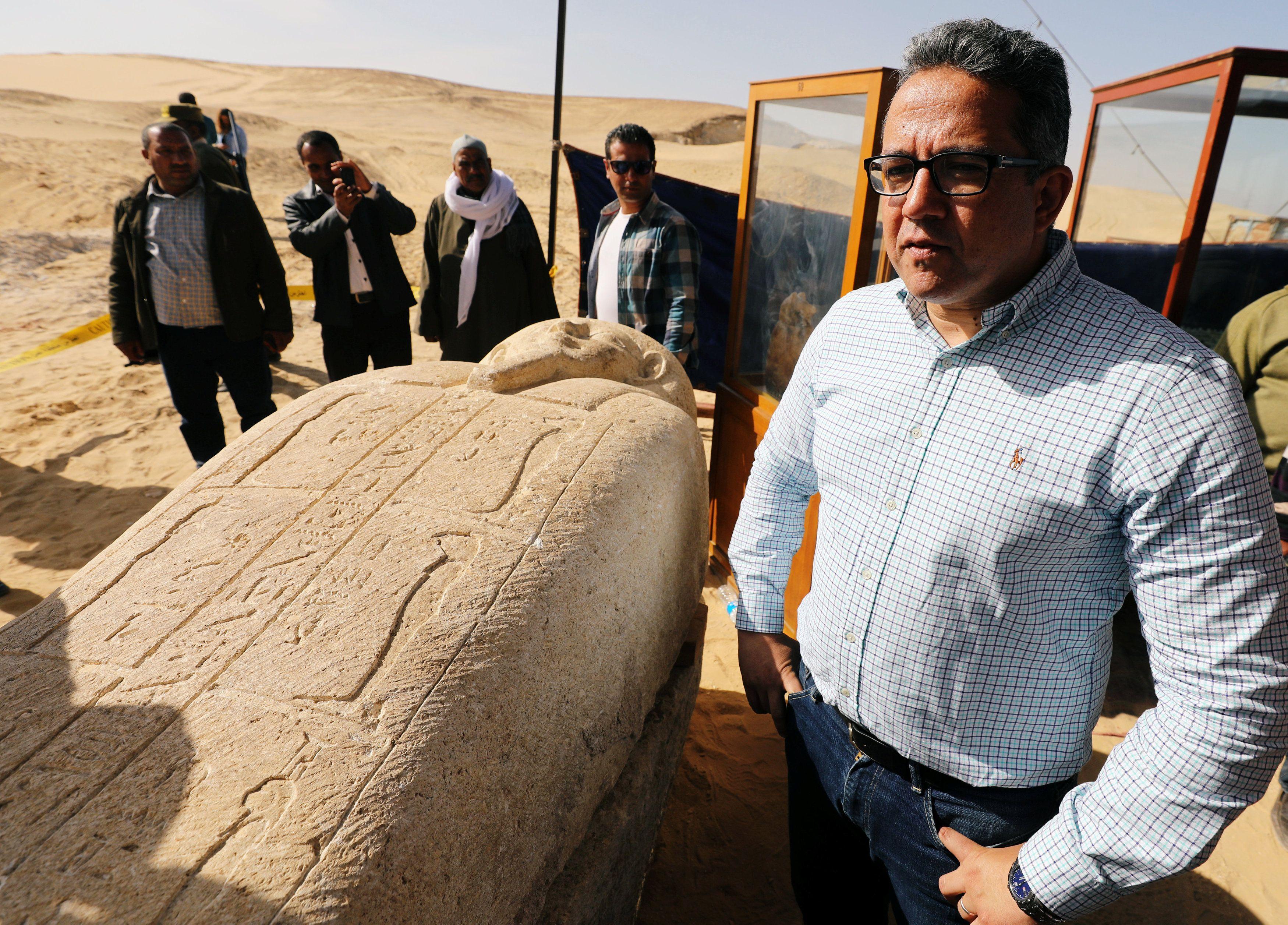 Ministro das Antiguidades fala das descobertas arqueológicas