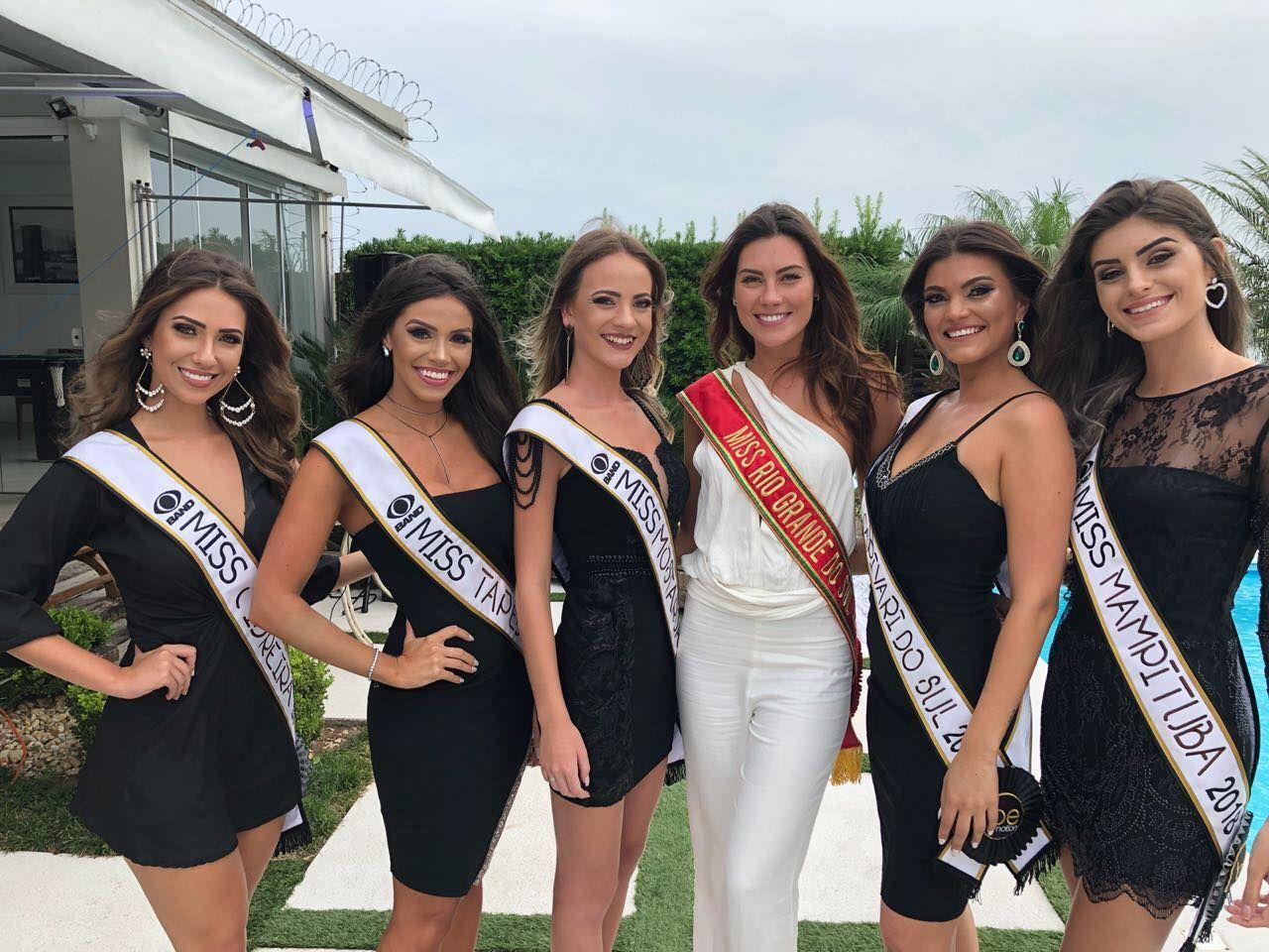 Miss RS 2018: candidatas se preparam para semifinal