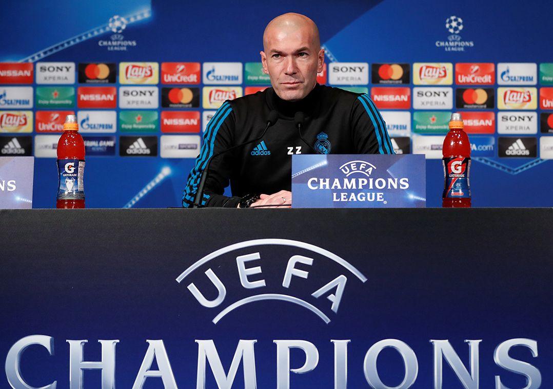 Zidane afirmou que o Real Madrid precisa se concentrar e fazer um bom jogo    Gonzalo e2a49de37de09