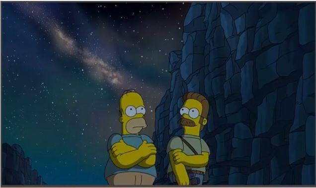Homer e Ned / Divulgação