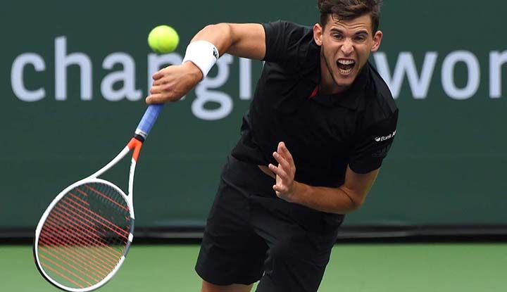 Thiem teve que desistir de Indian Wells / Jayne Kamin Oncea/USA TODAY Sports/Reuters