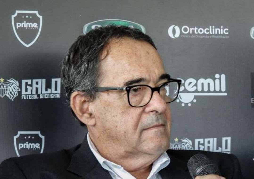 Bebeto de Freitas sofreu uma parada cardíaca nesta terça-feira / Bruno Cantini/Atlético-MG