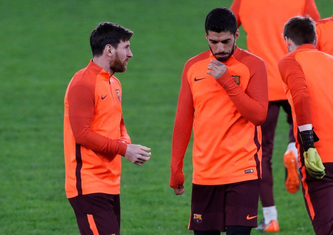 Messi e Suárez são as grandes apostas do Barça nesta quarta / Matthew Childs/Reuters