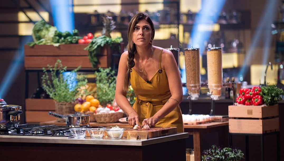 Joguei toda minha emoção na comida, diz Andressa