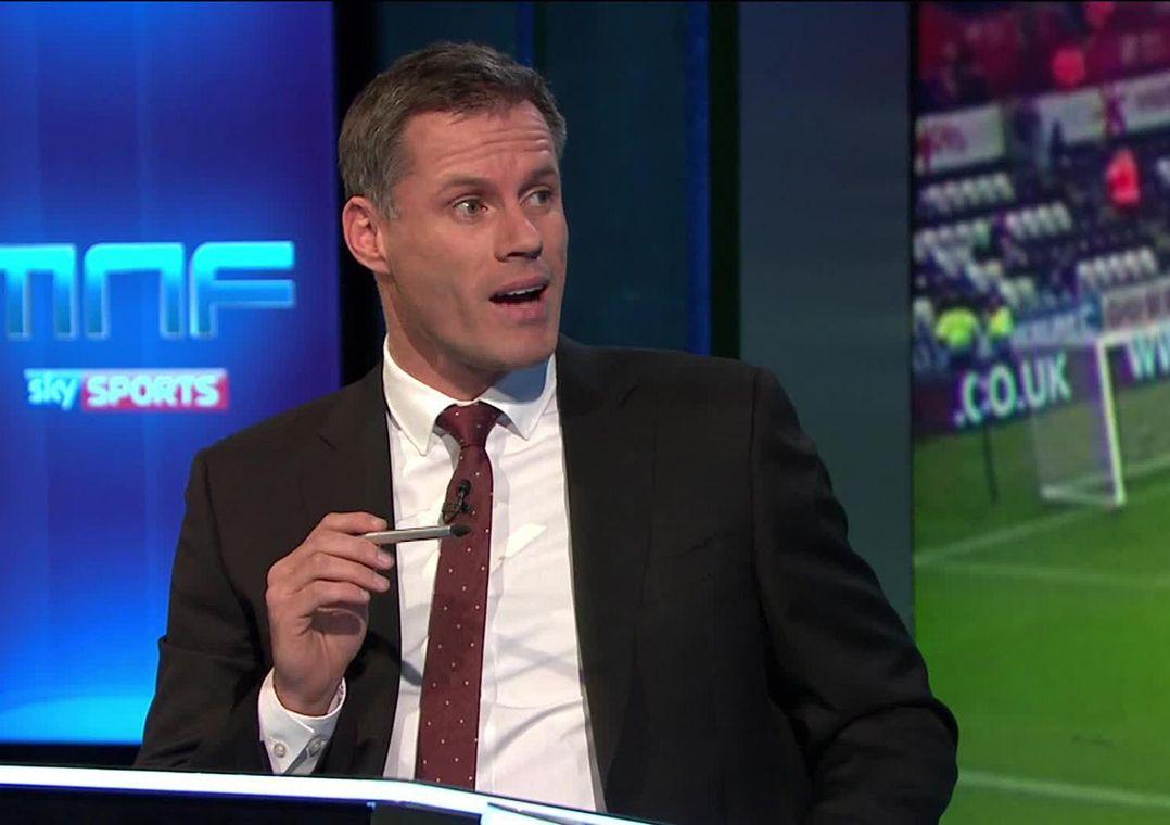 Carragher foi afastado nesta quarta-feira sem data de retorno  / Reprodução/Sky Sports