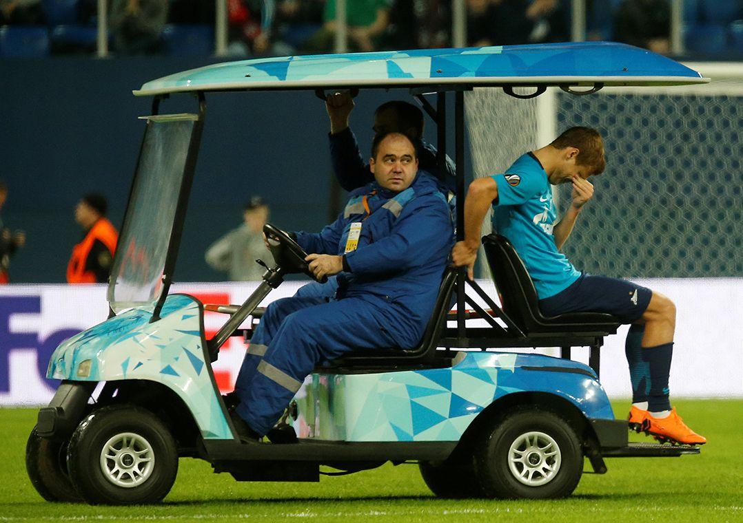 Kokorin sofre lesão no joelho e desfalca a Rússia na Copa do Mundo