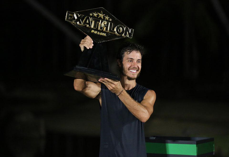 Marcel Stürmer é o grande campeão do Exathlon Brasil