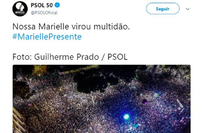 Maioria dos comentários sobre morte de Marielle foi positiva