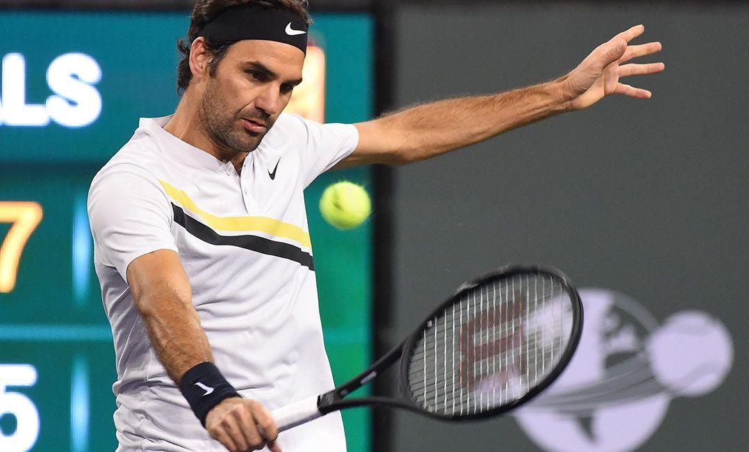 Federer vira jogo, alcança melhor marca e tenta o hexa