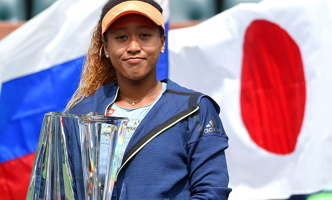 Osaka arrasa russa e fatura Torneio de Indian Wells