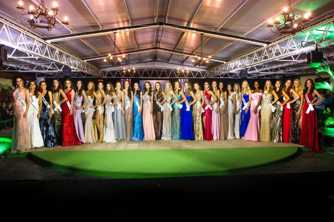 Conheça as 30 finalistas a Miss RS 2018