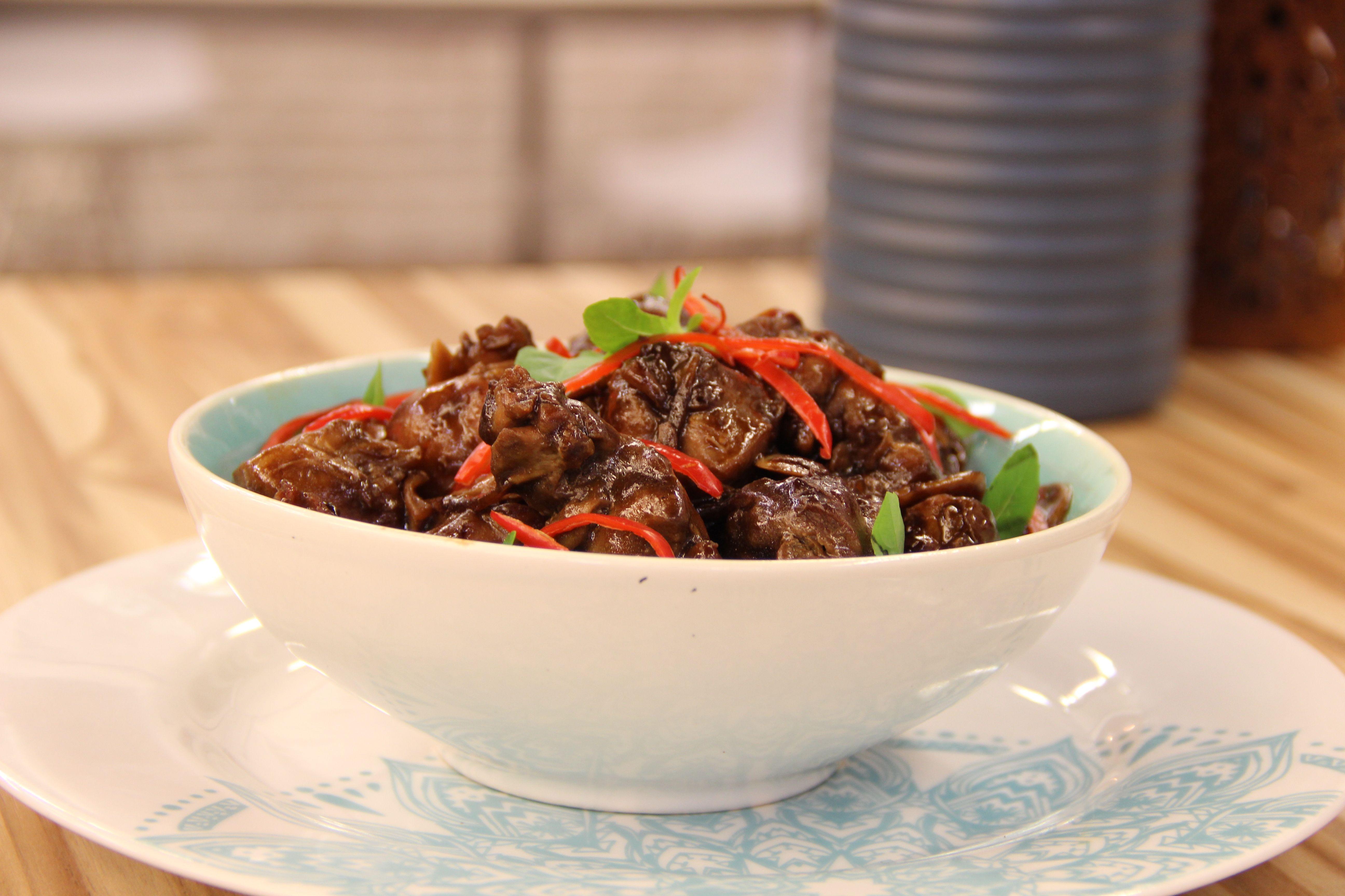 Jiang no fogão
