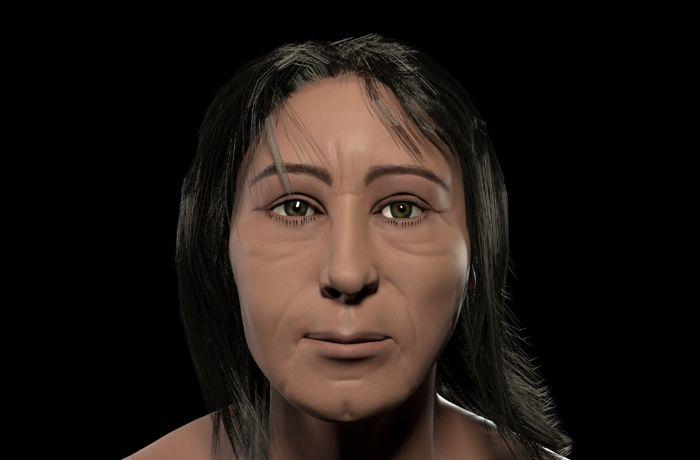 Museu da UFRJ reconstrói rosto de carioca há 2 mil anos