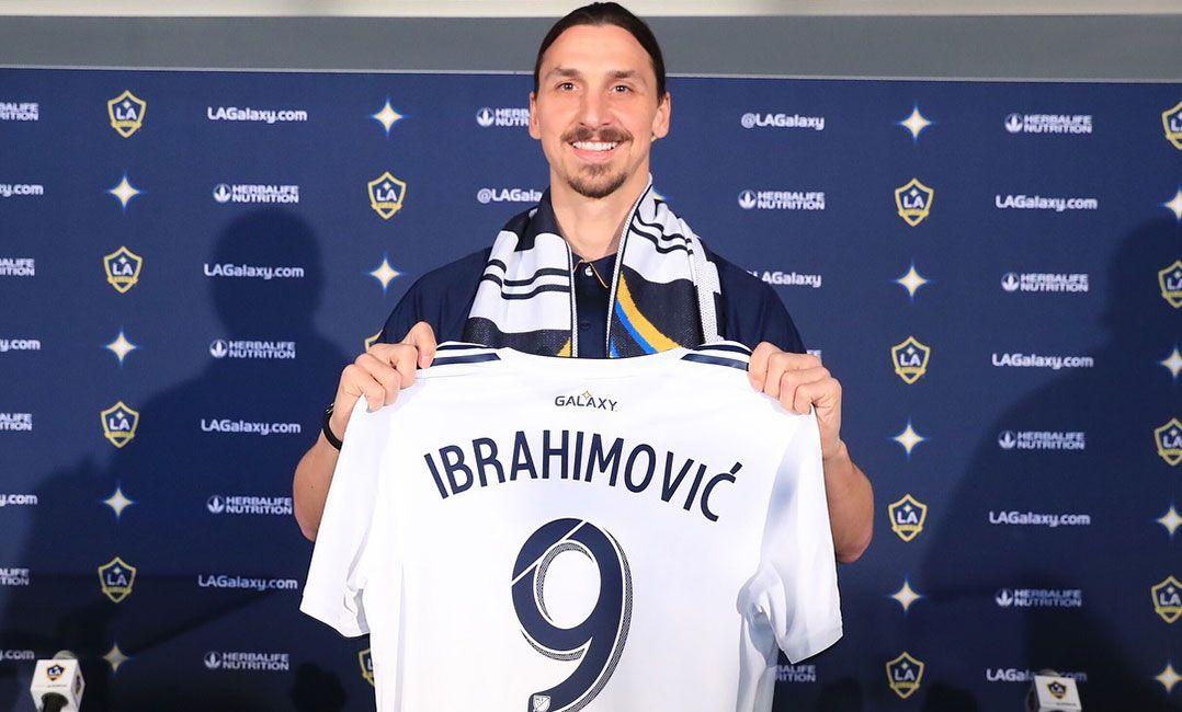 Los Angeles Galaxy anuncia renovação do contrato de Ibrahimovic