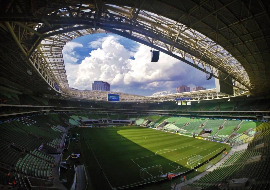 Allianz Parque vai receber a final da Copa do Brasil entre Palmeiras e Grêmio
