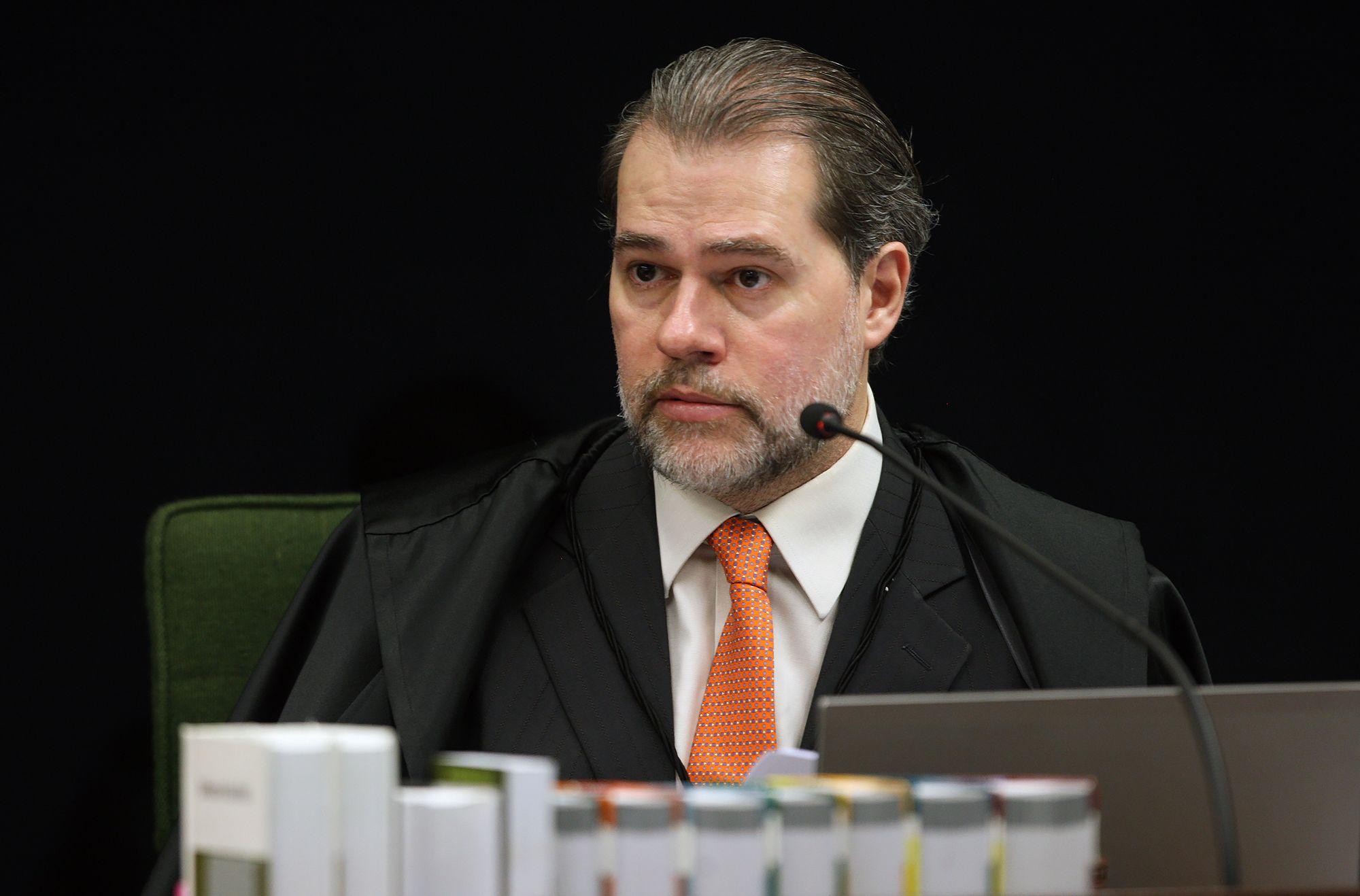Ministro Dias Toffoli durante sessão da 2ª turma do STF