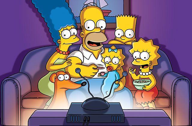 Família Simpson reunida / Divulgação