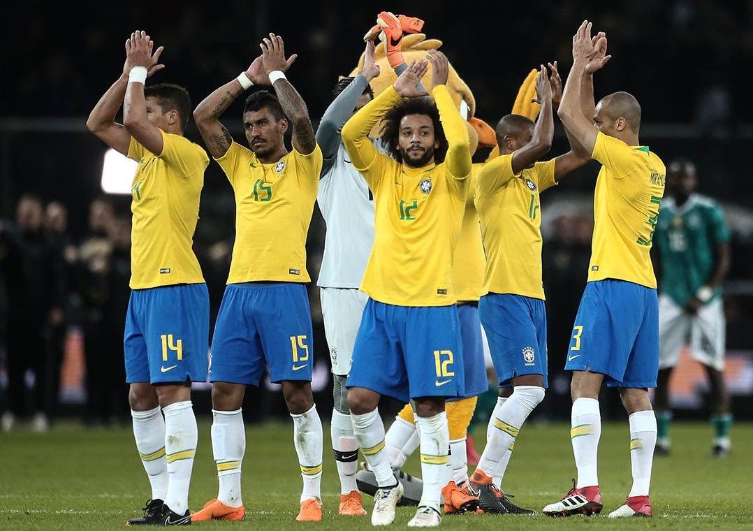 7883a6ff24 Brasil se mantém na vice-liderança do ranking da Fifa - Band.com.br