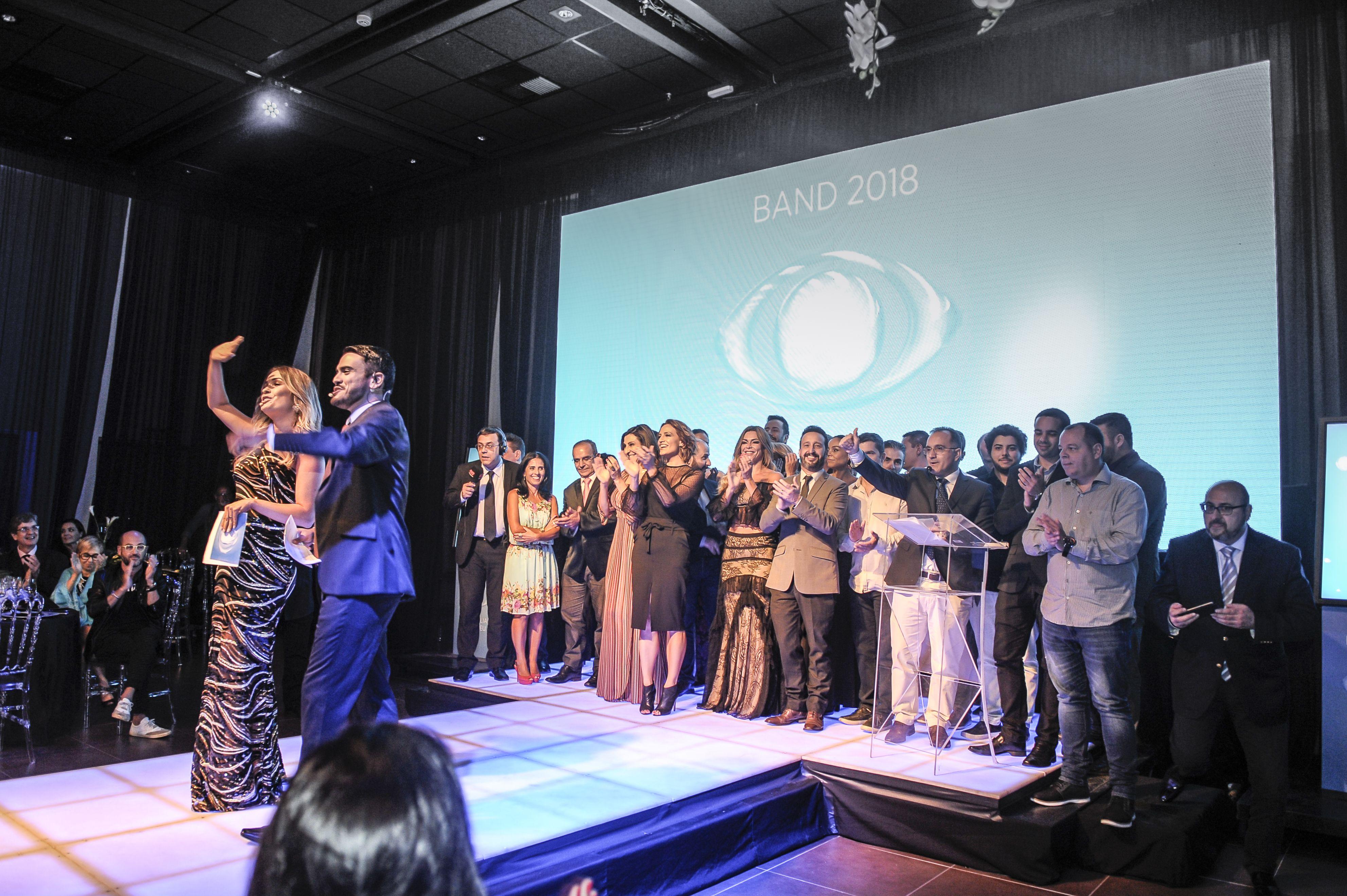 A Família Cresceu: casting da Band RS na apresentação da programação 2018 / Antares Martins
