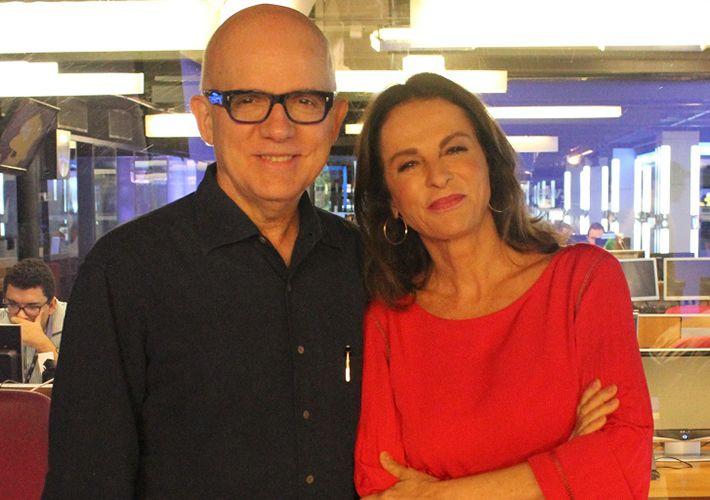 Bruno Barreto e Sonia Racy / Divulgação / Band