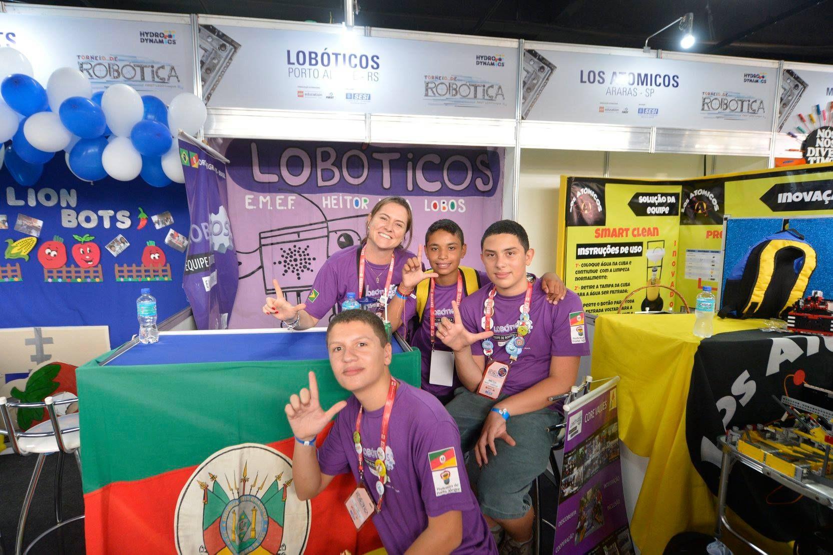 Equipe Lobóticos precisa de ajuda para participar de Mundial