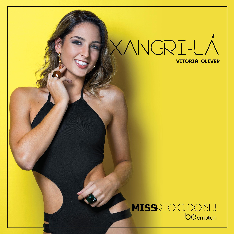 Conheça a Miss Xangri-Lá 2018, Vitória Oliver