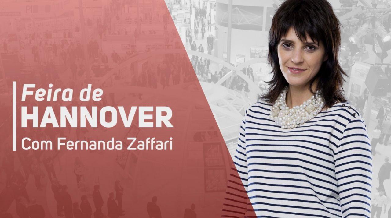 Acompanhe Fernanda Zaffari em Hannover