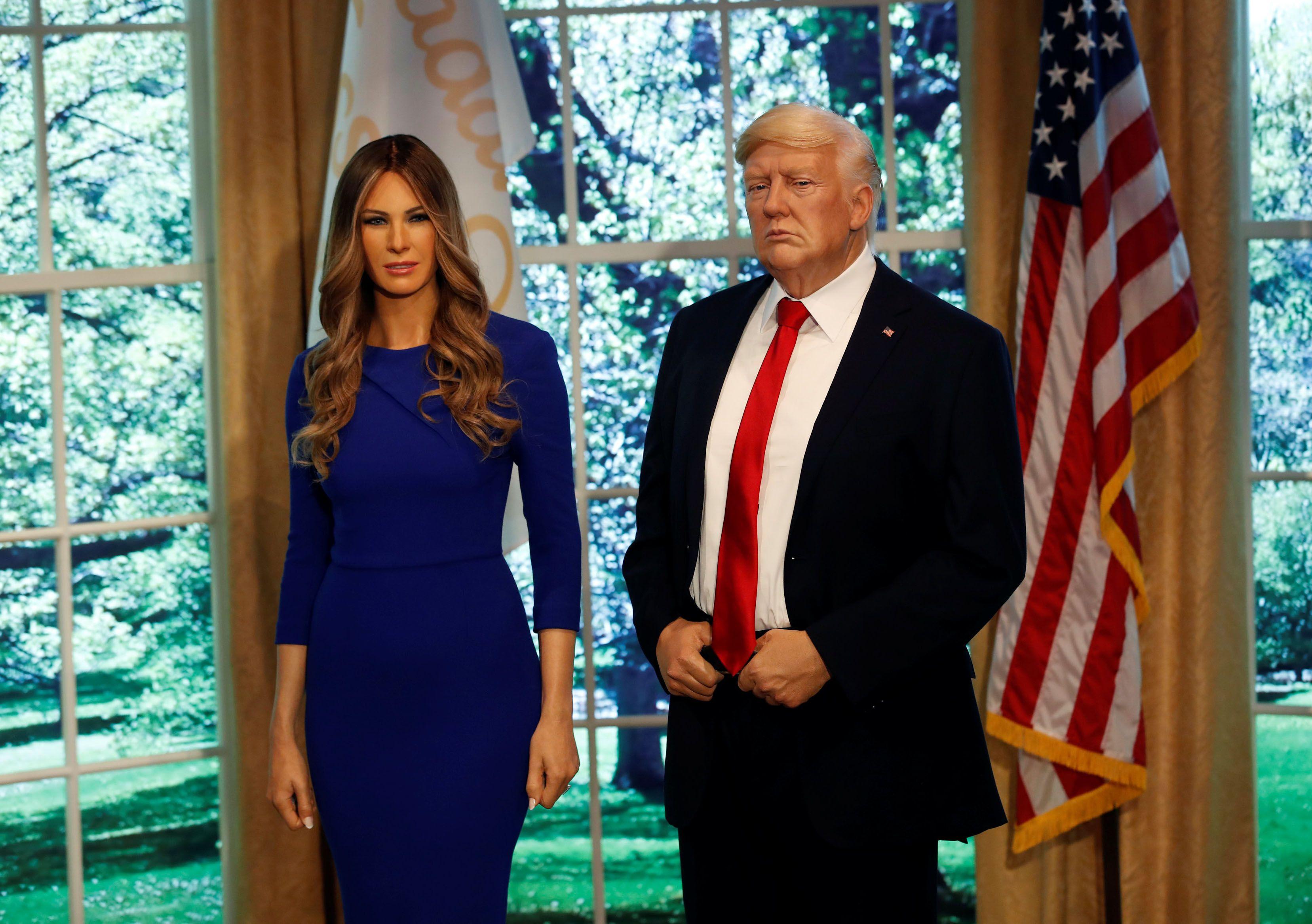 Trump se diz 'ocupado' para presentear Melania