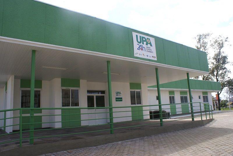 A limpeza dos dutos de ar-condicionado restringe o atendimento no local / Divulgação/ GHC